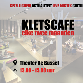 Kletscafé 17 februari