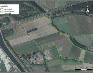 Locatie energiepark A59
